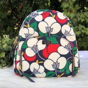 Kate Spade Dawn Breezy Floral Medium Backpack